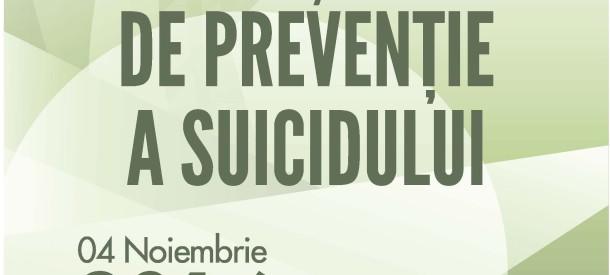 """Conferința Națională cu participare internațională """"Ziua Națională de Prevenție a Suicidului"""", ediția a doua."""