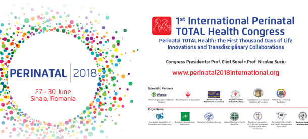 "Primul Congres Internațional ""Perinatal TOTAL Health"""